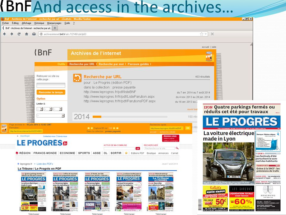 A guided tour of the news collection August 20 th 2014 Harvesting digital newspapers at the BnF – Clément Oury – IFLA WLIC conference 10