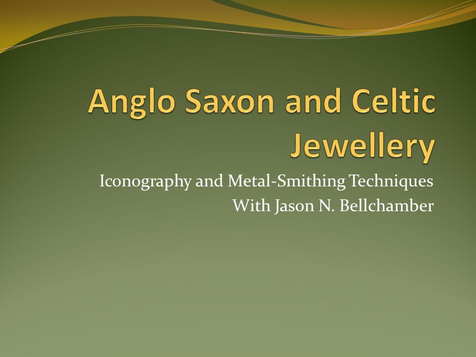 Iconography and Metal-Smithing Techniques With Jason N. Bellchamber