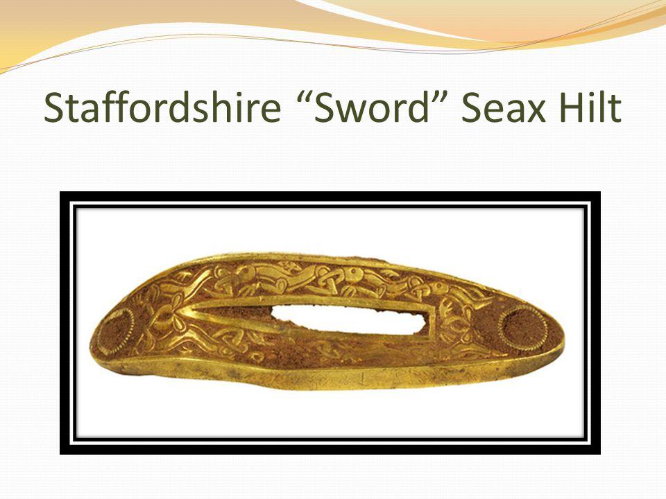 Staffordshire Sword Seax Hilt