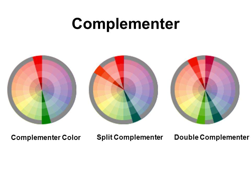 Complementer Split ComplementerDouble Complementer Complementer Color