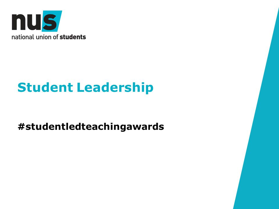 Student Leadership #studentledteachingawards