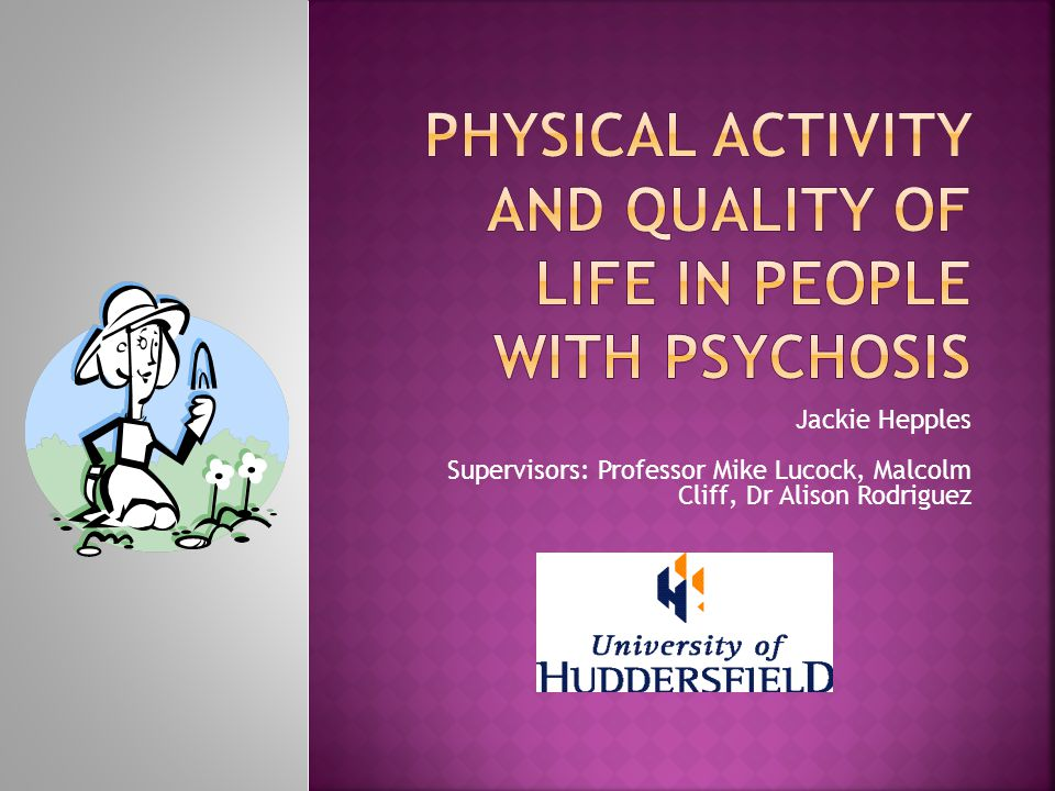 Physical activity (PA) and Quality of Life 1.Empowerment and strive for normality 1.1.