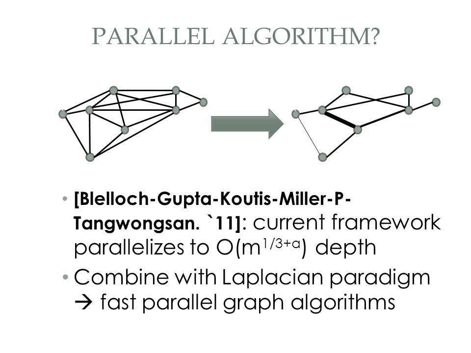 [Blelloch-Gupta-Koutis-Miller-P- Tangwongsan.