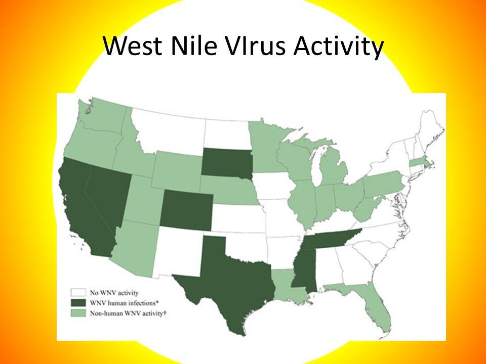 West Nile VIrus Activity