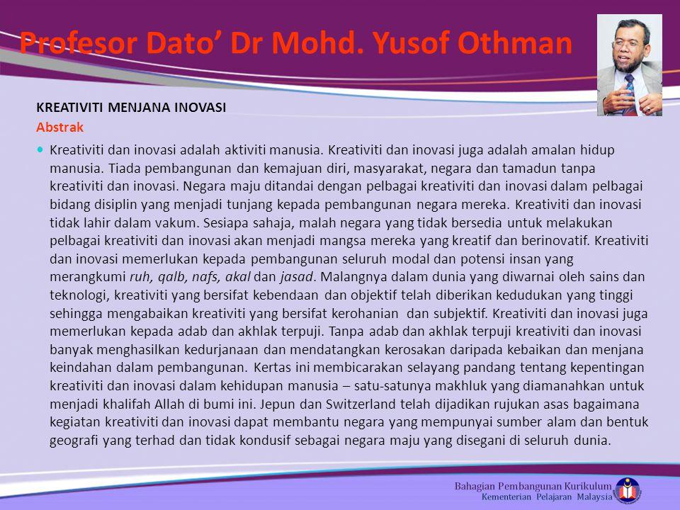 Profesor Dato' Dr Mohd.