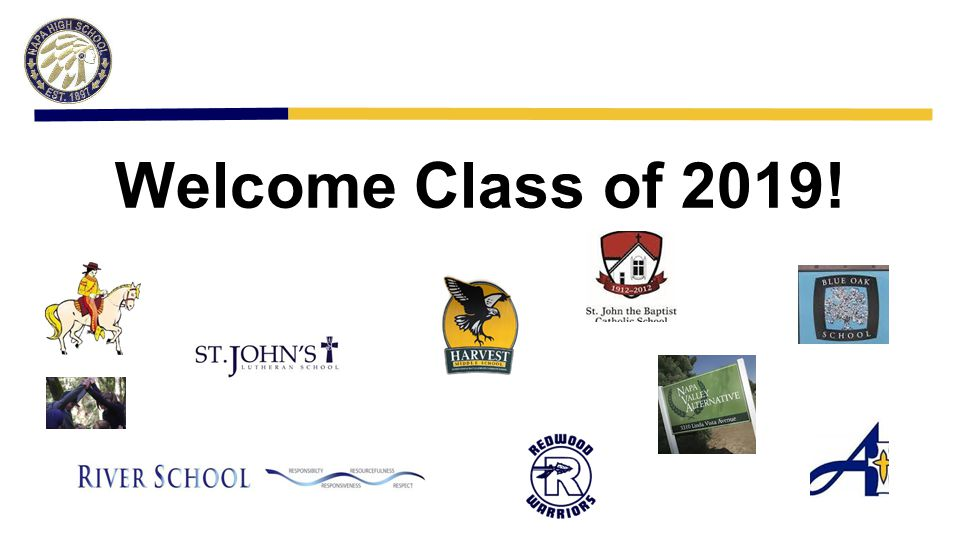Introductions NHS ~ Name and role at Napa High 8th Grade Students share out: One thing you want to learn about Napa High.