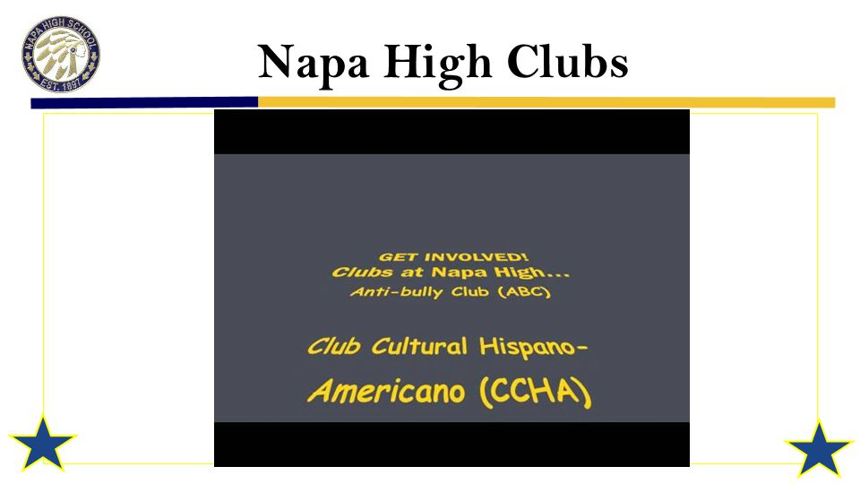 Napa High Clubs