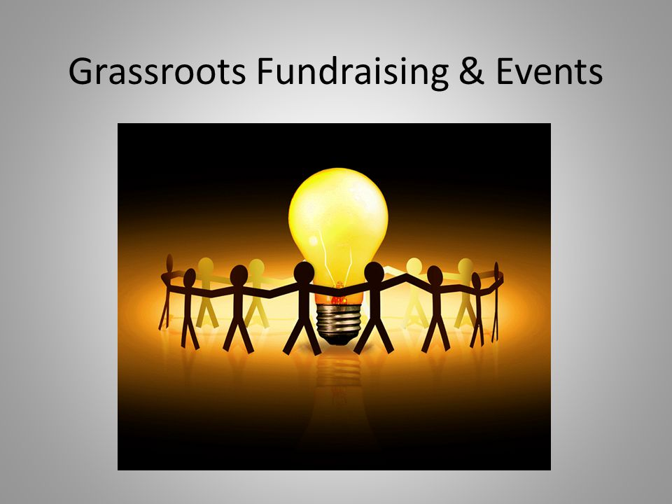 Grassroots Fundraising & Events