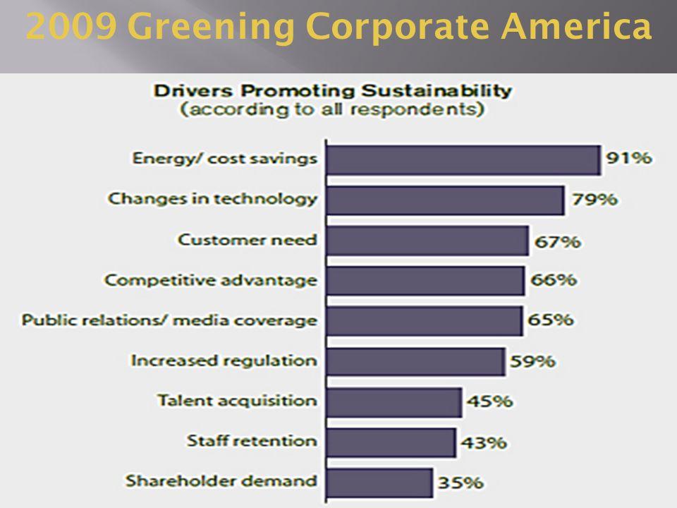 2009 Greening Corporate America