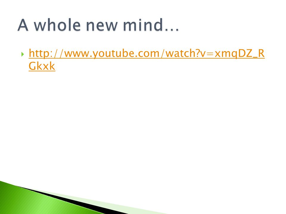  http://www.youtube.com/watch?v=xmqDZ_R Gkxk http://www.youtube.com/watch?v=xmqDZ_R Gkxk