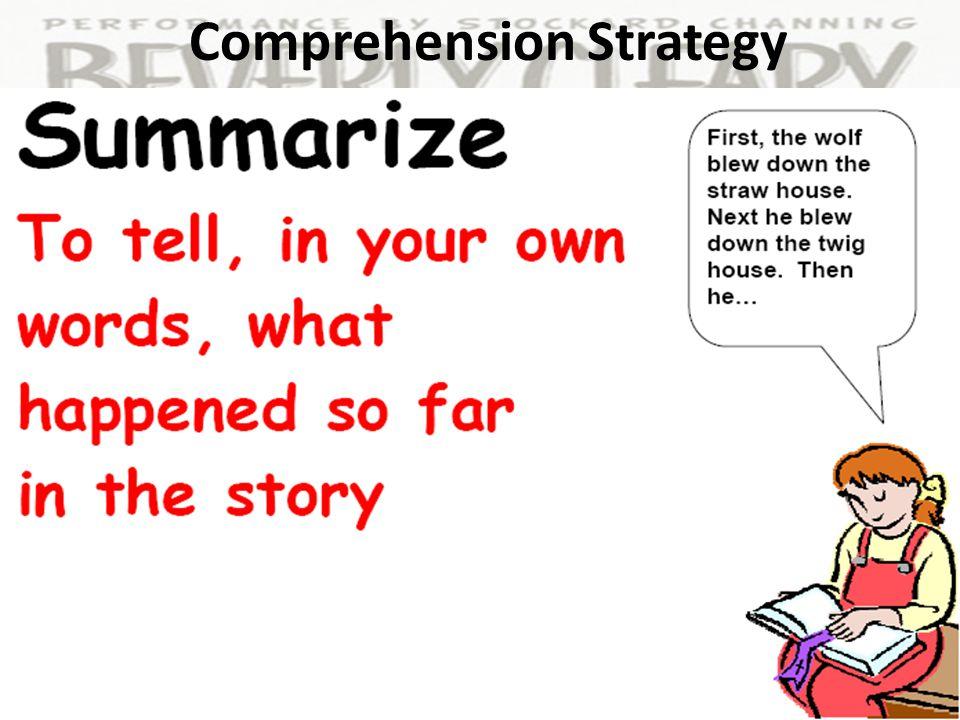 Comprehension Skill