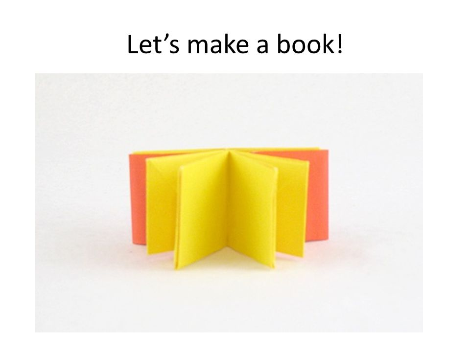 Let's make a book!