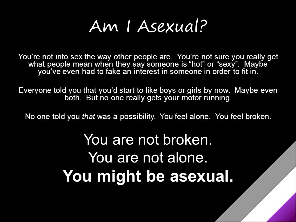 What's Asexuality.Asexuality is a sexual orientation, like being straight or gay.