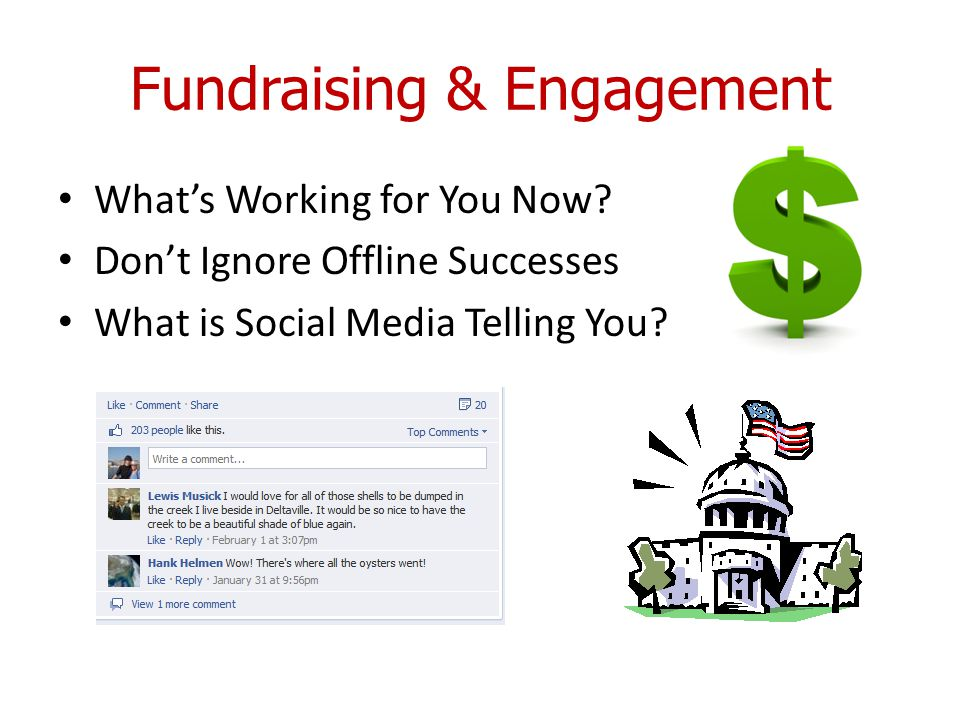 Fundraising & Engagement What's Working for You Now.