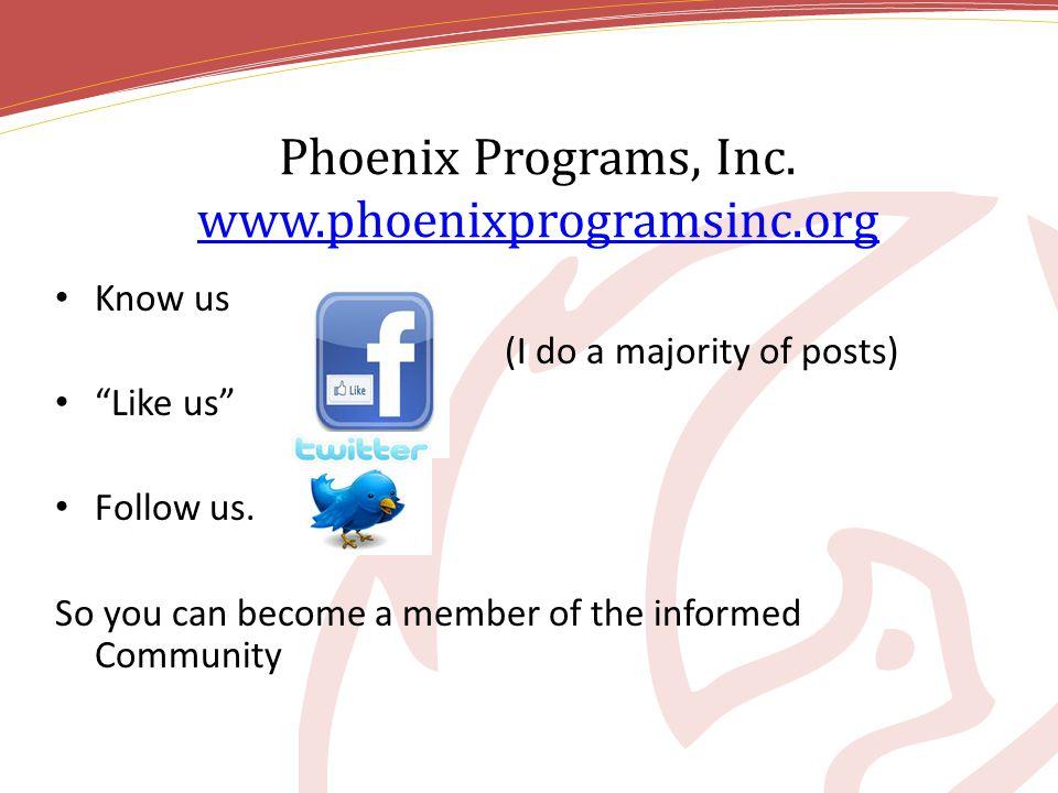 Phoenix Programs, Inc.