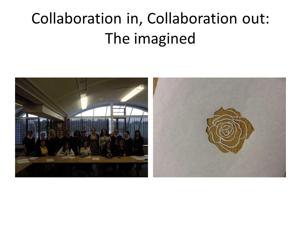 Collaboration in, Collaboration out: The imagined