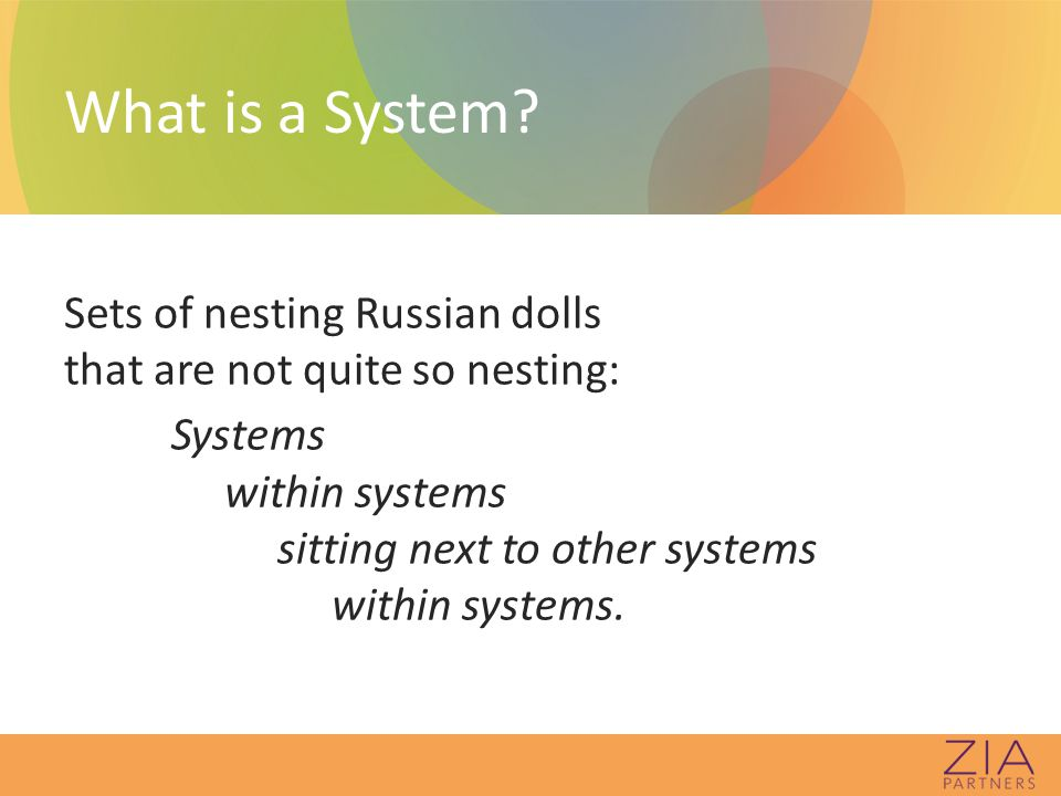 Transformation Involves EVERY system, subsystem, and sub- sub-system in a common process to achieve a common vision, with EVERY dollar spent and EVERY policy, procedure and practice.