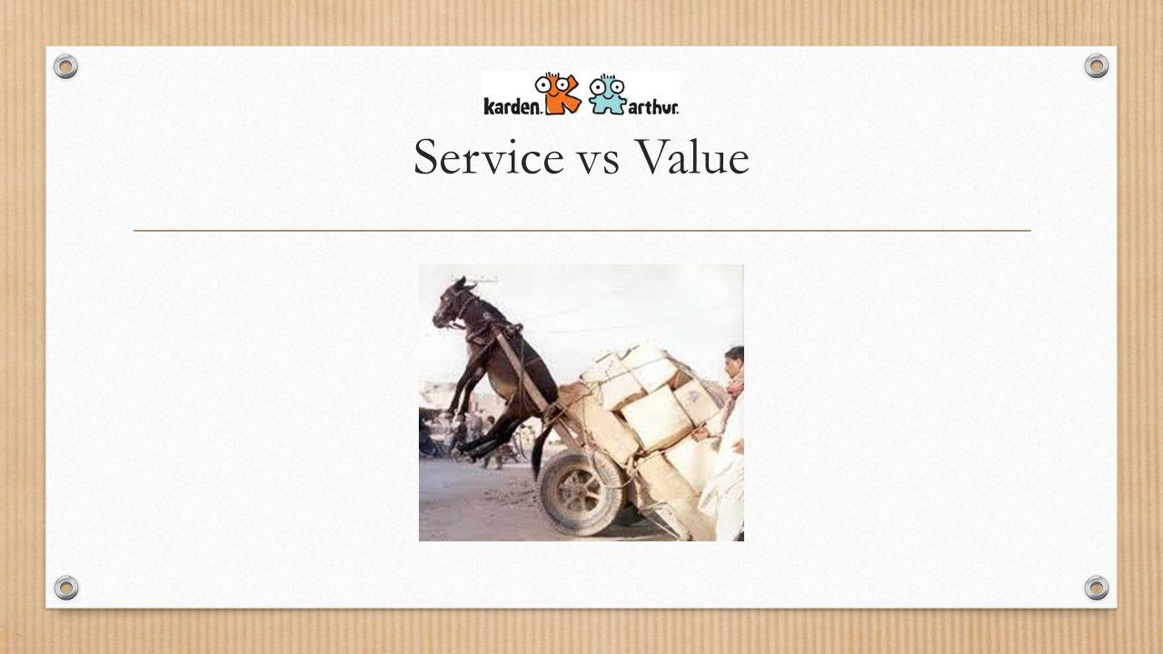 Service vs Value