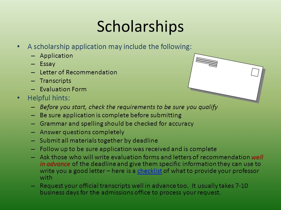 scholarship essays layout The essay is often the most important part of your application it gives the scholarship committee a sense of who you are and your dedication to your goals you'll want to make sure that your scholarship essay is the best it can possibly be.