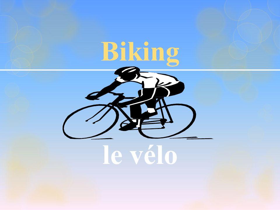 Biking le vélo