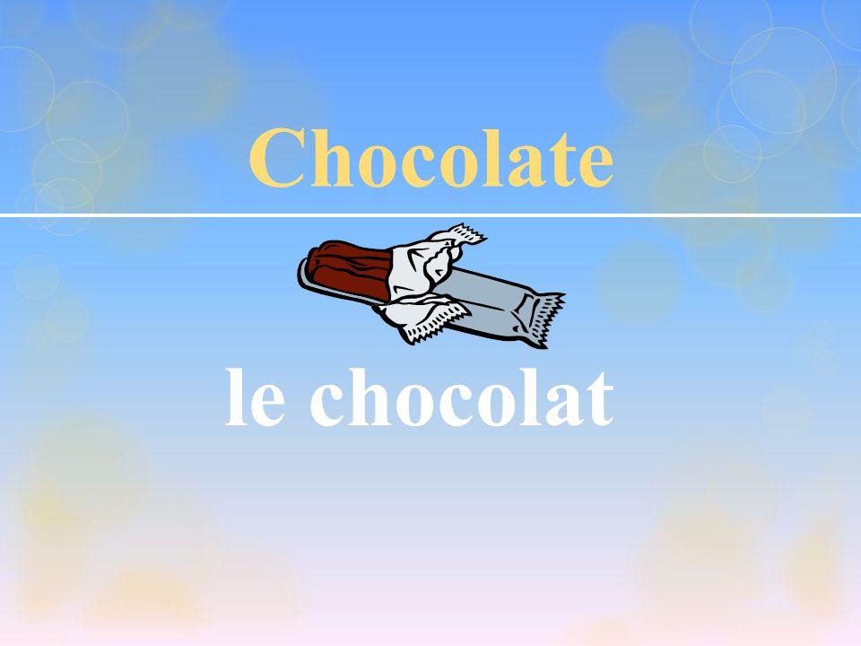 Chocolate le chocolat