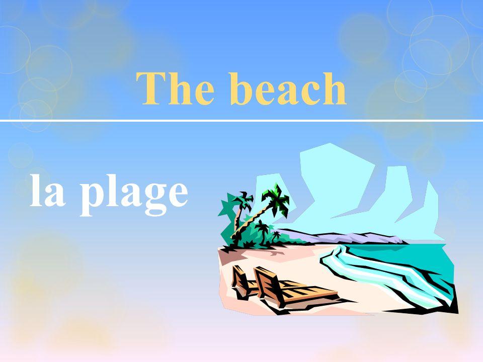 The beach la plage