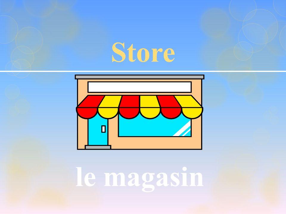 Store le magasin NAF