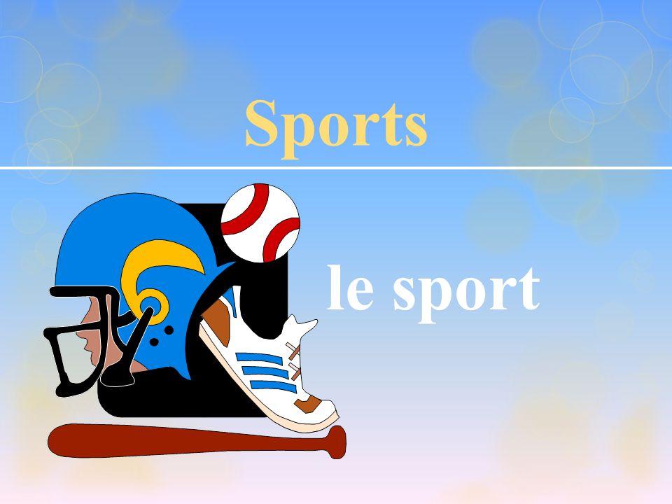 Sports le sport
