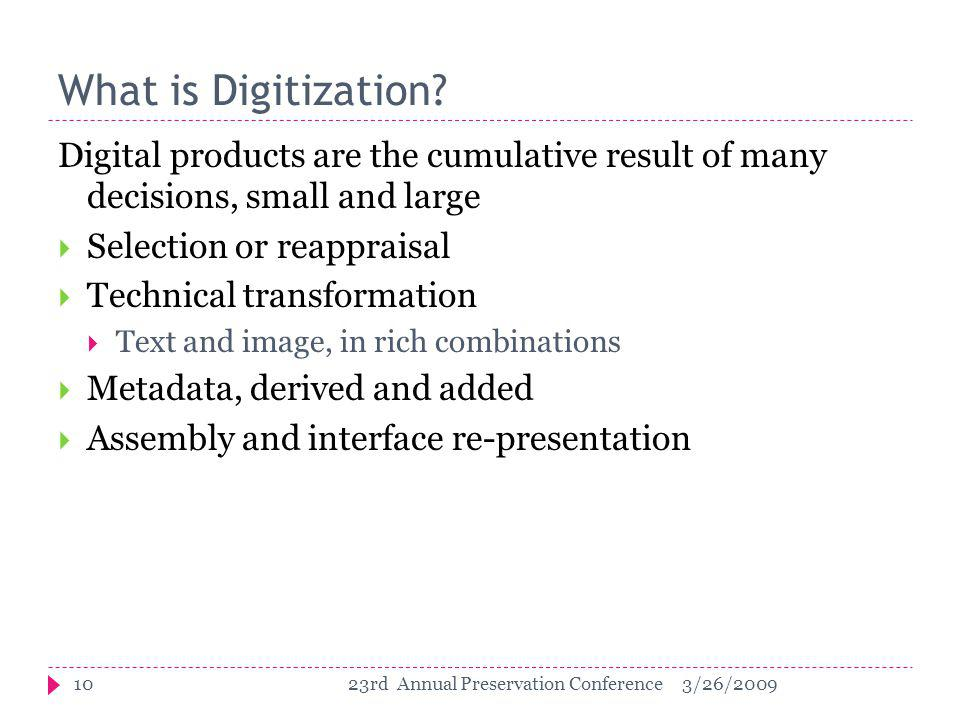 What is Digitization.