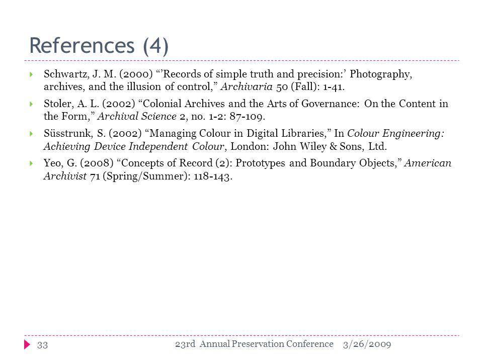 References (4)  Schwartz, J. M.