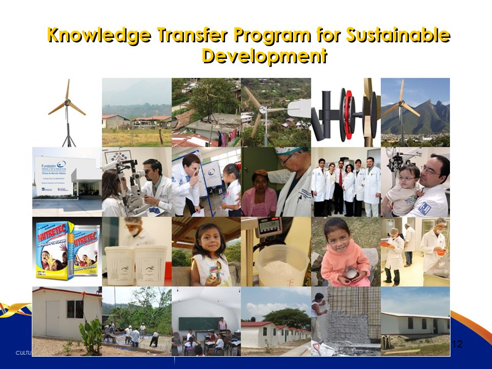 12 Knowledge Transfer Program for Sustainable Development
