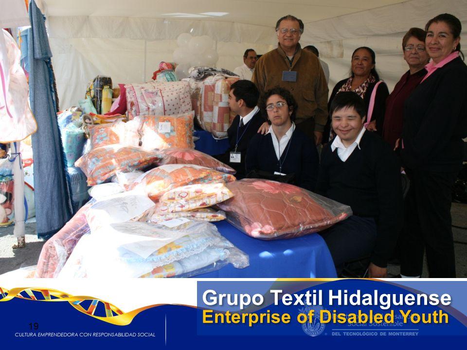 Grupo Textil Hidalguense Enterprise of Disabled Youth Grupo Textil Hidalguense Enterprise of Disabled Youth 19