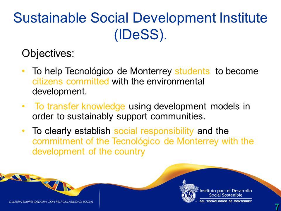 7 7 Sustainable Social Development Institute (IDeSS).