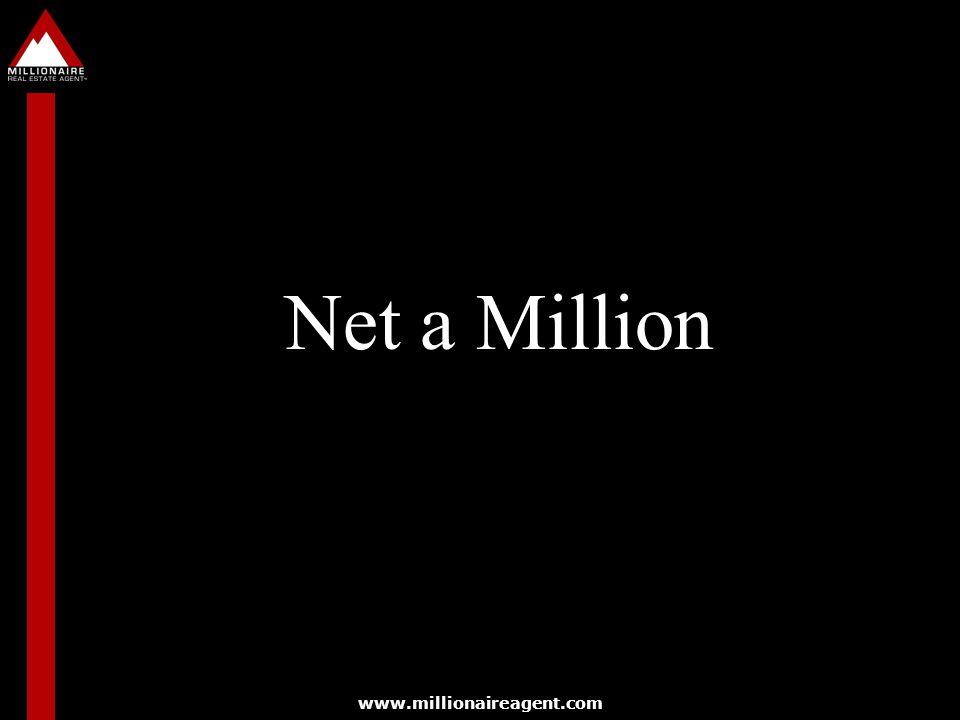 www.millionaireagent.com Net a Million