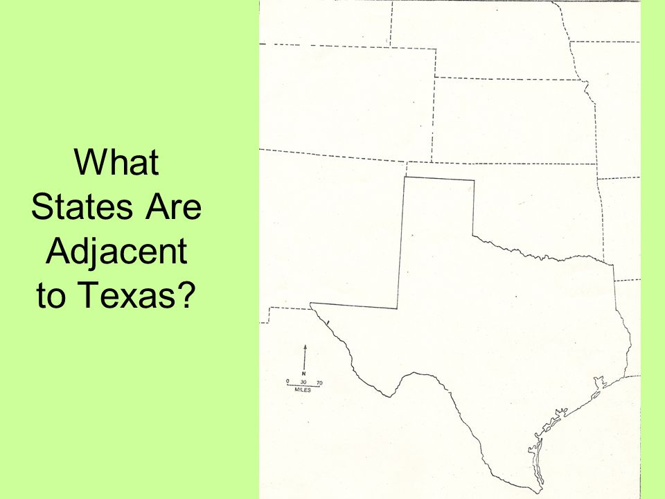 What States Are Adjacent to Texas?