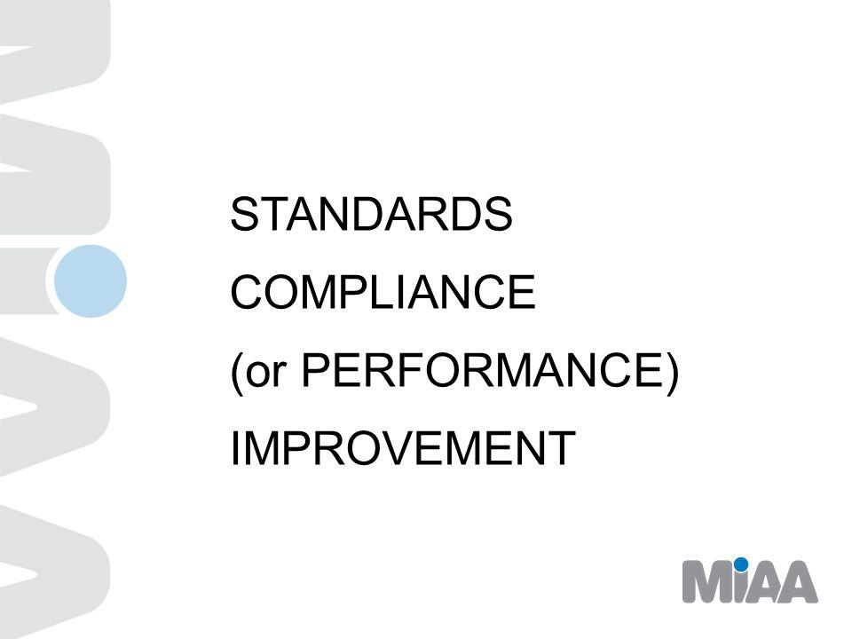 Standardization: Improving Your Performance Standard of Care Dr.