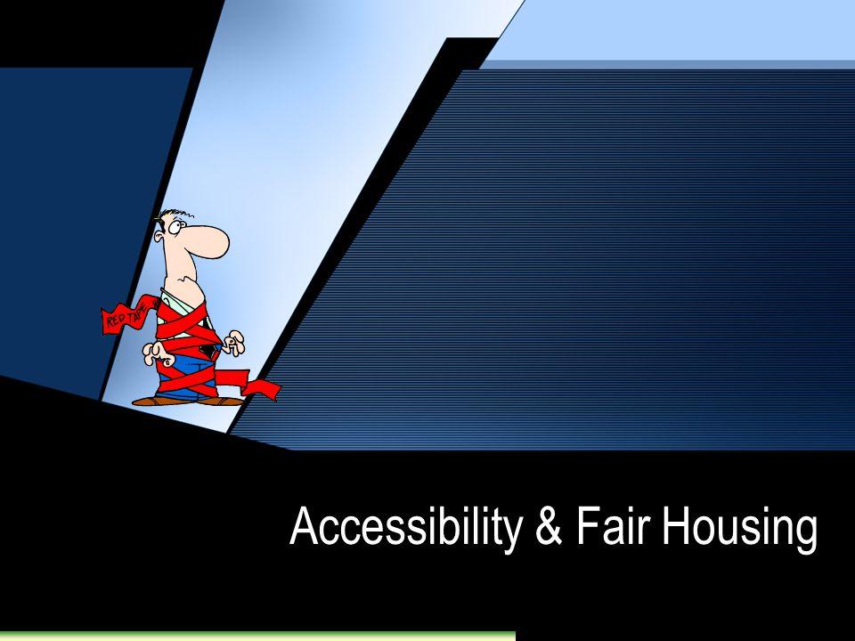 Accessibility & Fair Housing