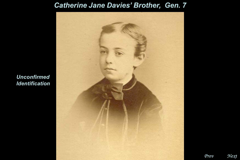 NextPrev. Catherine Kate Jane Davies, Gen. 7 Unconfirmed Identification