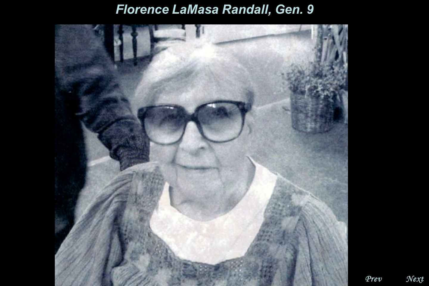 NextPrev. Florence LaMasa Randall, Gen. 9 Clyde and Florence had 2 sons, Lawrence and Philip.