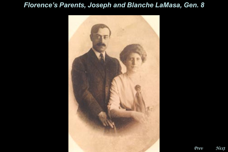 NextPrev. Florence LaMasa Randall, Gen. 9