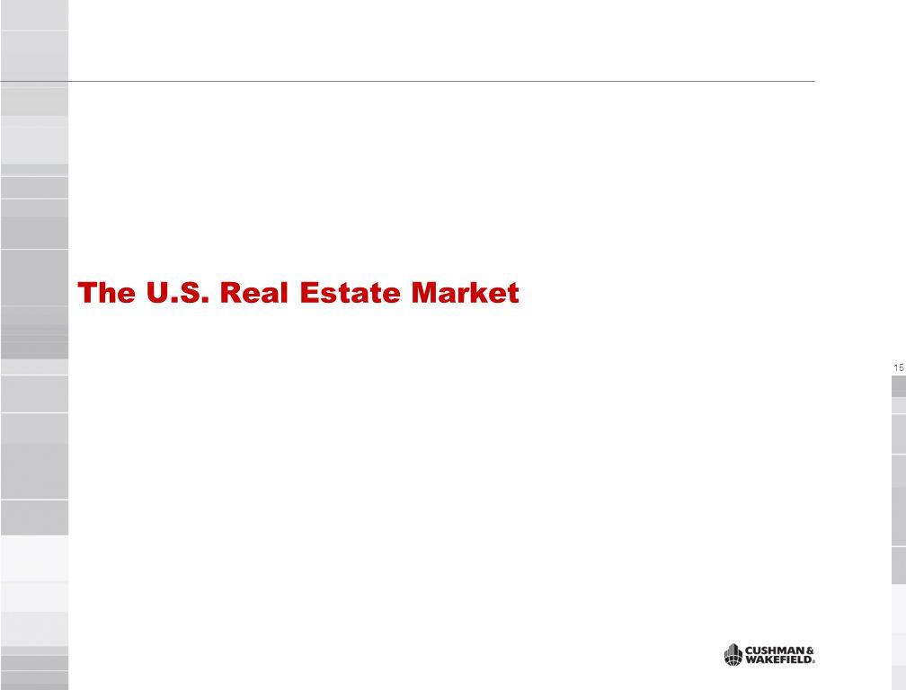 15 The U.S. Real Estate Market