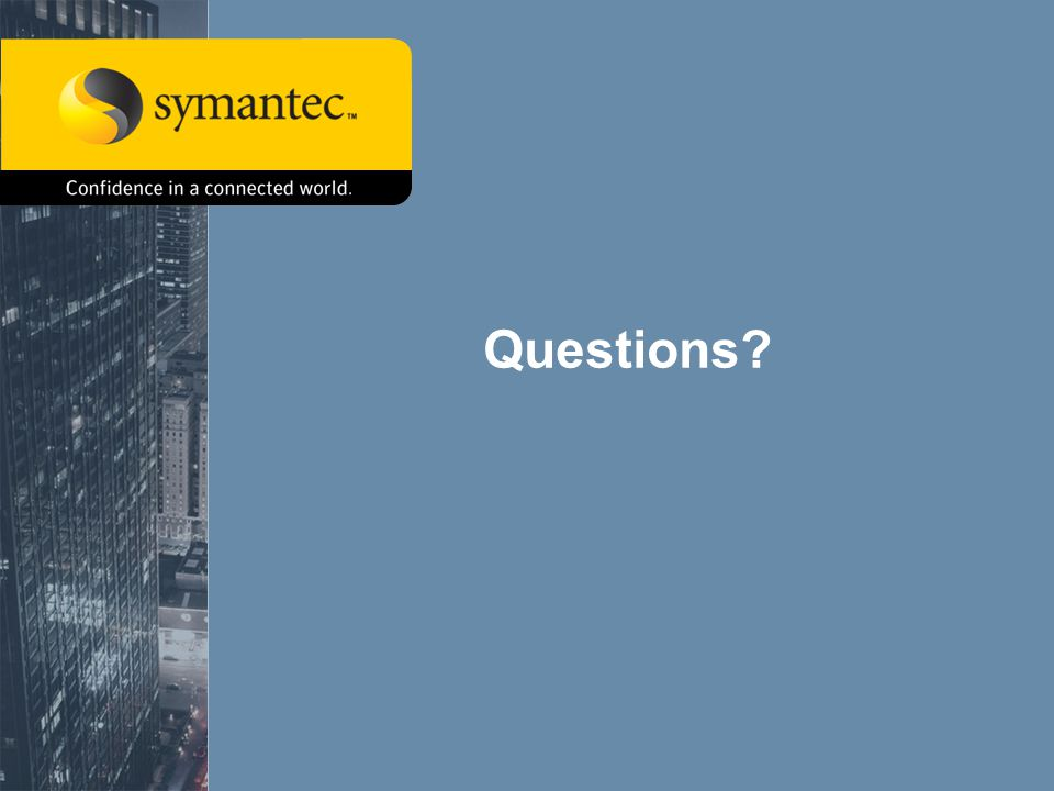 Symantec Advanced Threat ResearchVista s Network Attack Surface63 Questions?