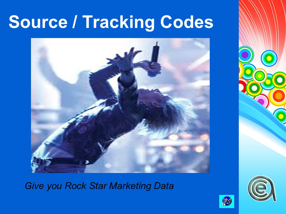 Source / Tracking Codes Give you Rock Star Marketing Data