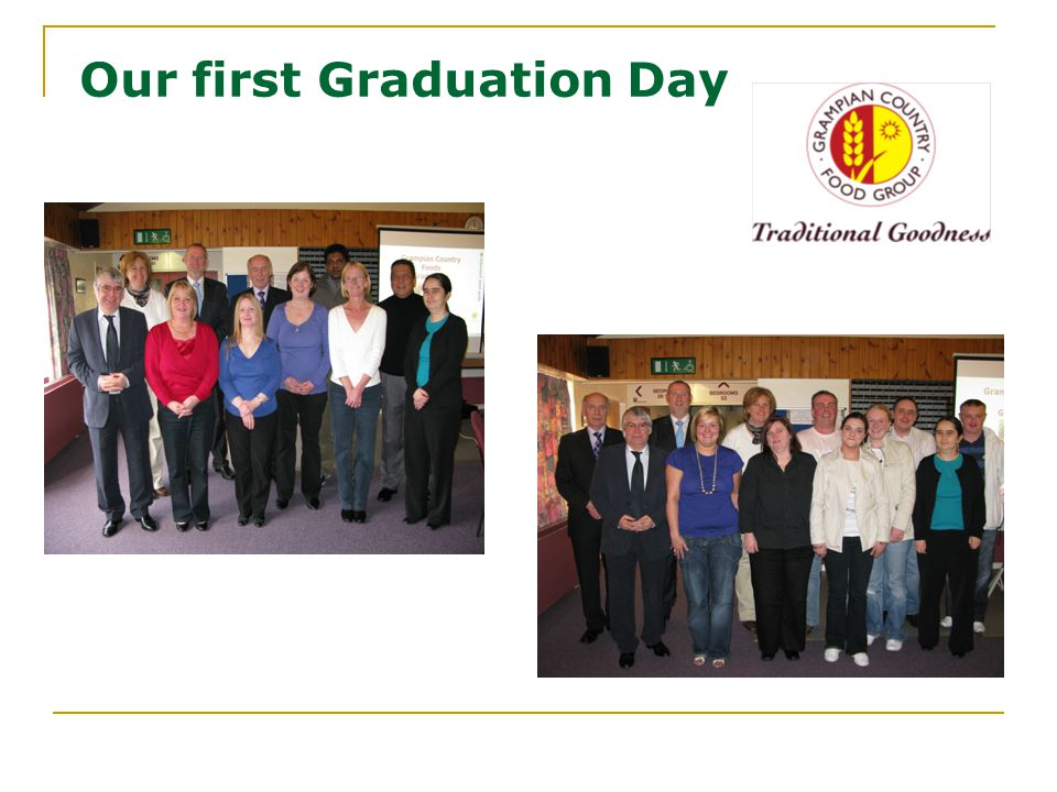 Our first Graduation Day