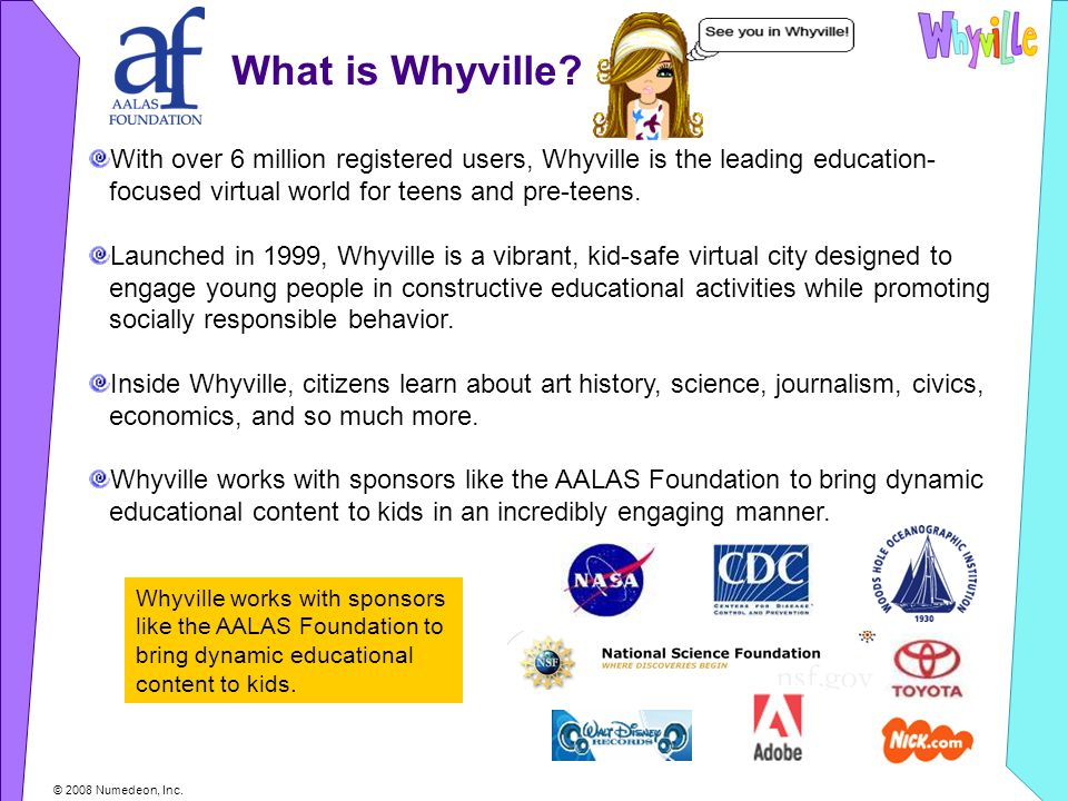 What is Whyville.