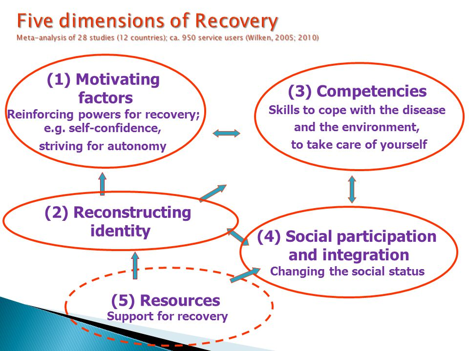 (1) Motivating factors Reinforcing powers for recovery; e.g.