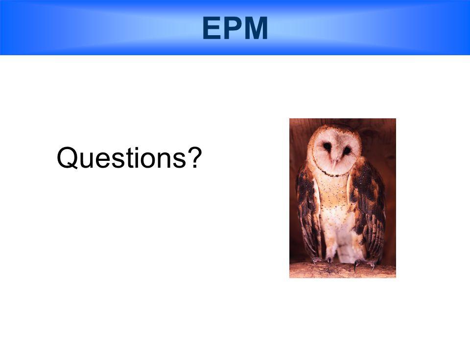 EPM Questions