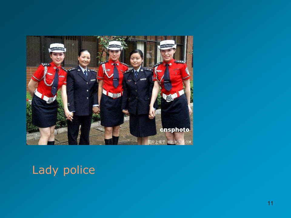 11 Lady police