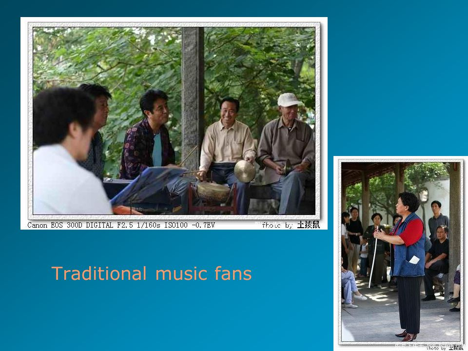 13 Traditional music fans