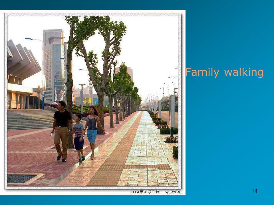 14 Family walking
